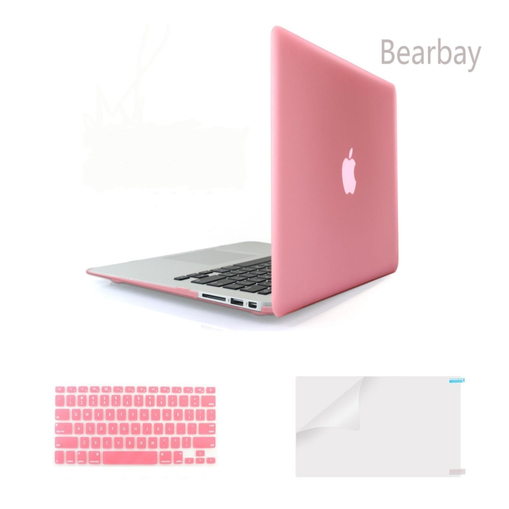 ... Bearbay 3 in 1 Apple Macbook Air 13-inch Soft-Touch Plastic HardCase Cover ...