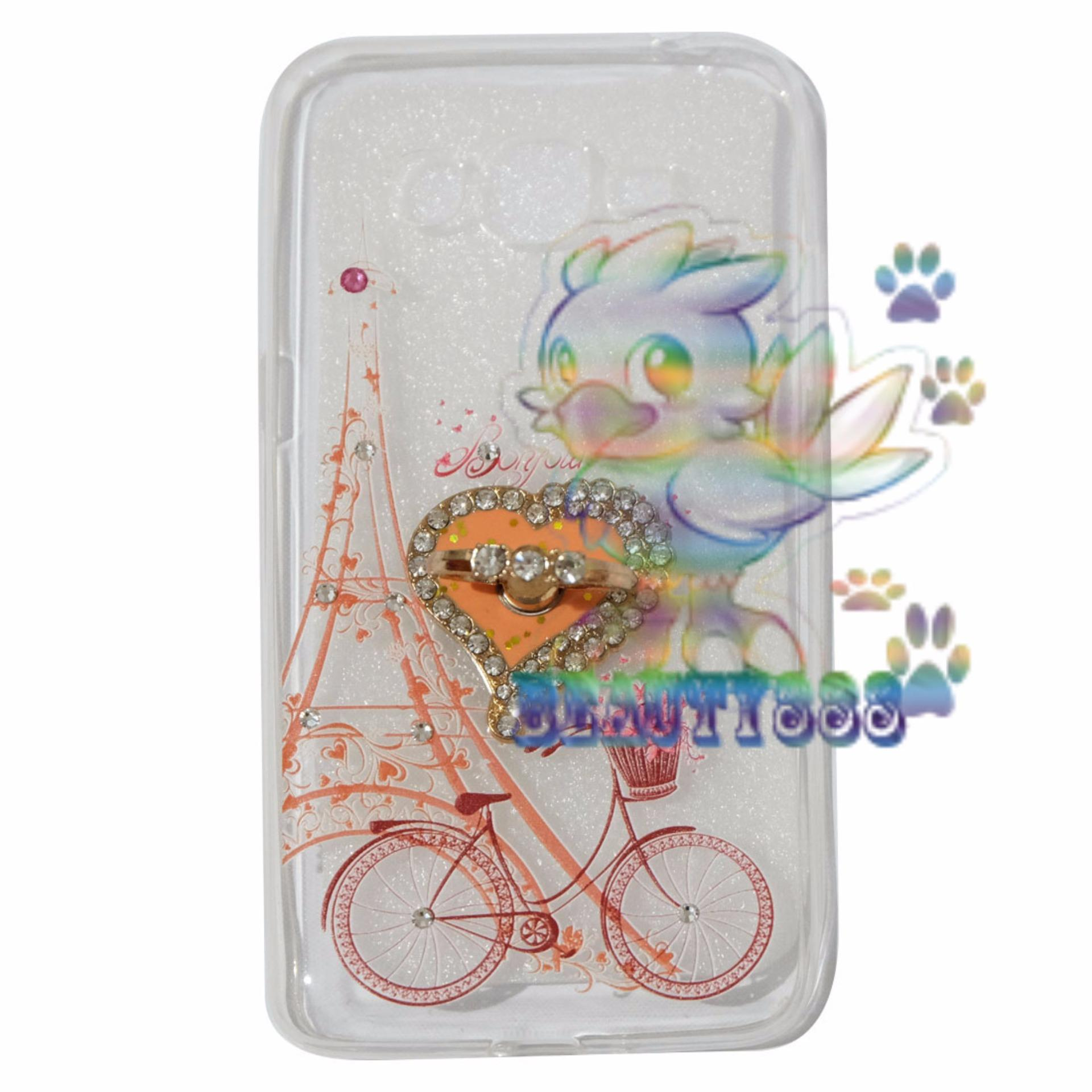 Beauty Case For Samsung Galaxy J2 Prime Prime Softshell AnimasiVintage Bicycle Love + .