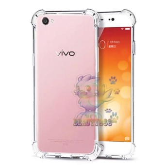 Beauty Case For Vivo V5 Anti Crack Vivo V5 Ultrathin Anti ShockElegant Softcase Anti Jamur Anti Crack Air Case 0.3mm / SiliconeVivo V5 / Soft Case / Case Hp - Putih Transparant