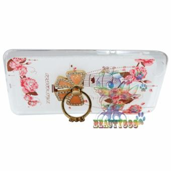 Beauty Case For Xiaomi Redmi 3X Softshell Animasi Vintage Bird +Holder Ring Tape Soft Case