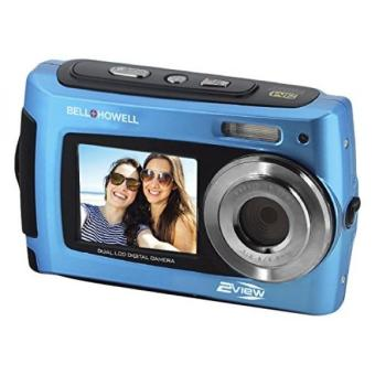 Bell+Howell 2VIEW 18.0MP HD Dual Screen Underwater Digital & Video Camera , 2.7, Blue