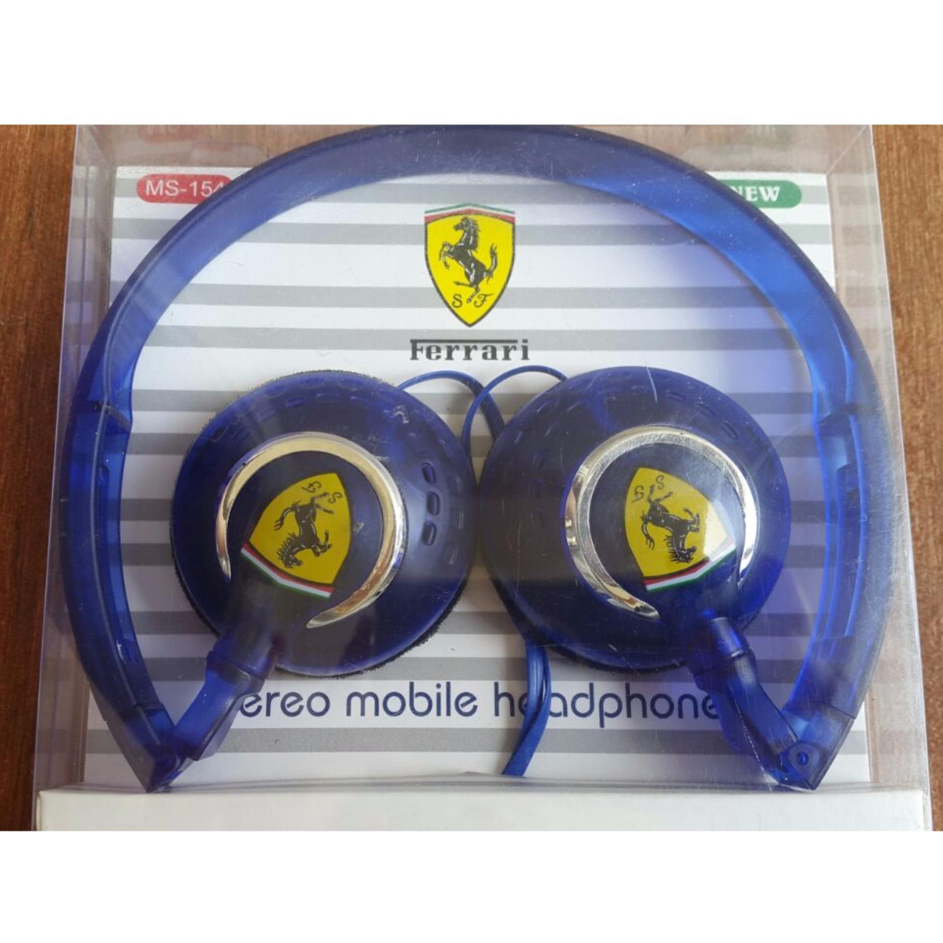 Best Ferrari Fashionable Stereo Mobile 3 5 Mm On Ear Headphones Handsfree Samsung S8 Oem By Akg Headset Earphone Suara Bass 35 Warna