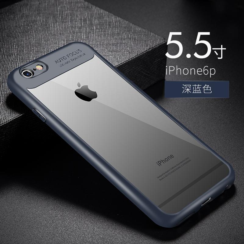 Bimbo iphone6/6plus apel transparan lengan pelindung shell telepon