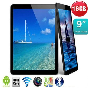 Black Tablet 9' Android 4.4 A33 Wifi Bluetooth Quad Core 16GB Dual Camera PC 5 Colors