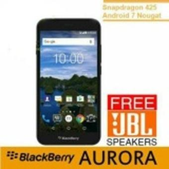 Blackberry Aurora BBC100-1 - 32GB - Free JBL Speaker - Hitam