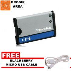 Blackberry Baterai C-S2 Curve Gemini - Gratis Blackbbery Micro USB Cable