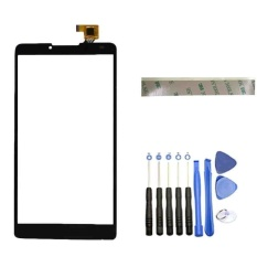 (Black)New For Lenovo A889 A880  Touch Screen Digitizer Accessories+3m Tape+Opening Repair Tools+glue