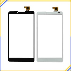 Black/White	Touch Screen Digitizer Lens Front Glass Panel 	For	Lenovo A889 A880 6.0