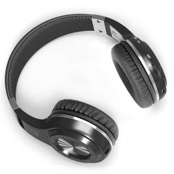 Bludio Headphone Orisinil Bluedio Th Kuat Bluetooth V4.1 HeadphoneNirkabel Bulit Dalam Mengisolasi Kebisingan Mikrofon Headset(Hitam) - 5