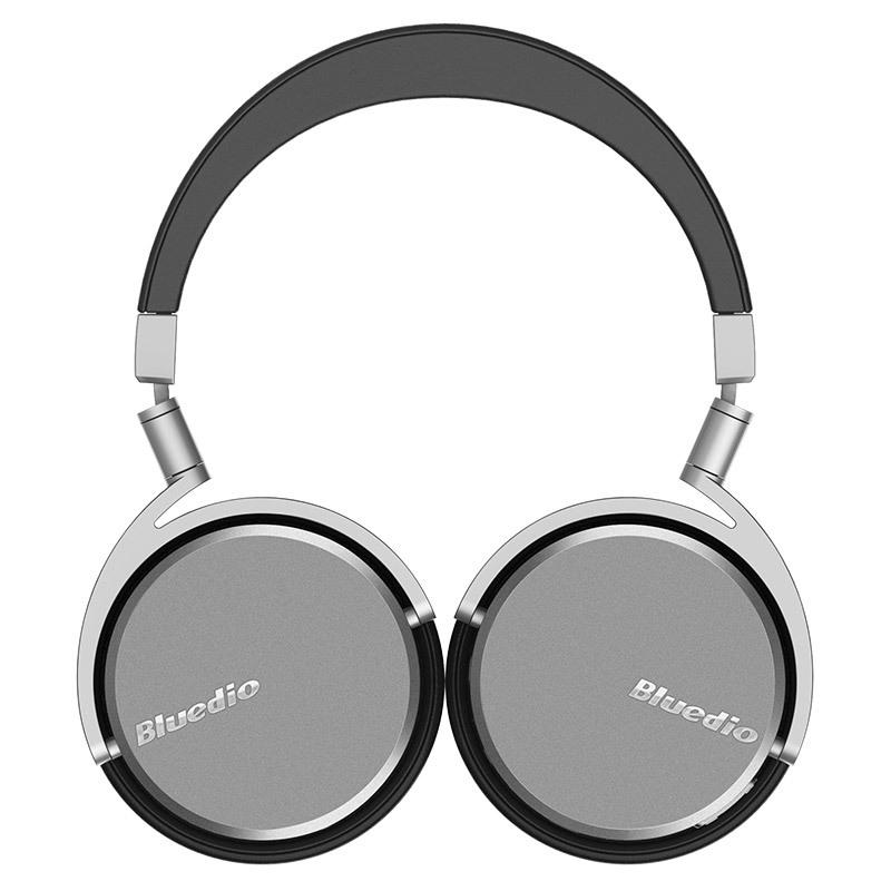 Bluedio Bluetooth nirkabel vinil putar 4,1 mikrofon Stereoheadphone ( Hitam/
