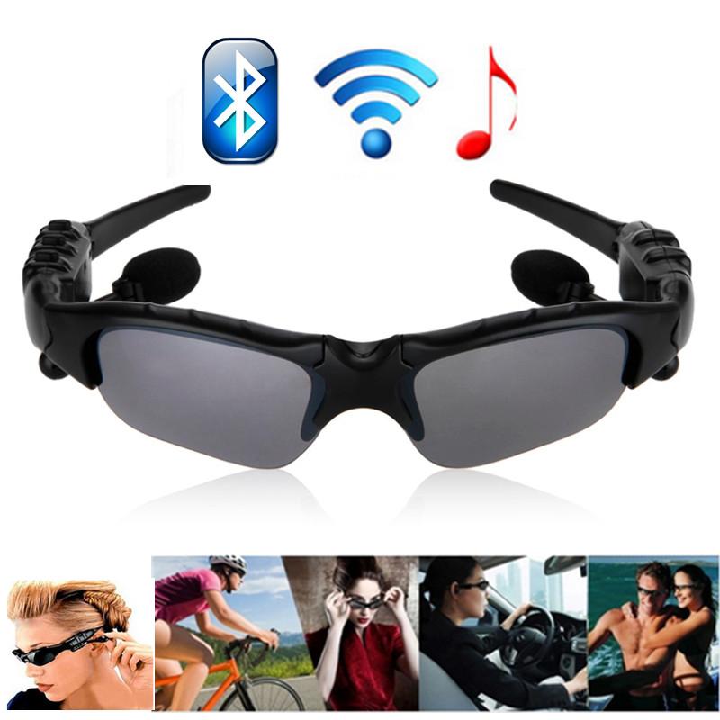 Bluetooth Nirkabel 4.1 Bluetooth Headset Headphone kacamata pintar olahraga