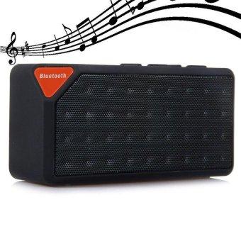 Bluetooth Speaker X3 Jambox Style TF USB FM Wireless PortableHandsFree Music Sound Box Subwoofer Loudspeakers with