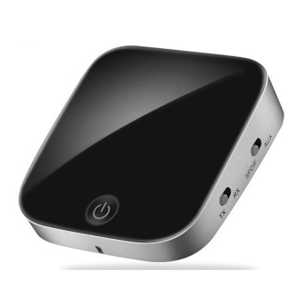 harga Bluetooth V4.1 Transmitter and Receiver,2 in 1 Wireless AudioAdapter with Optical Toslink/SPDIF and 3.5mm Stereo Output SupportAPT-X Low Latency 2 Devices Pair At Once For Home or Car SoundSystem - intl Lazada.co.id