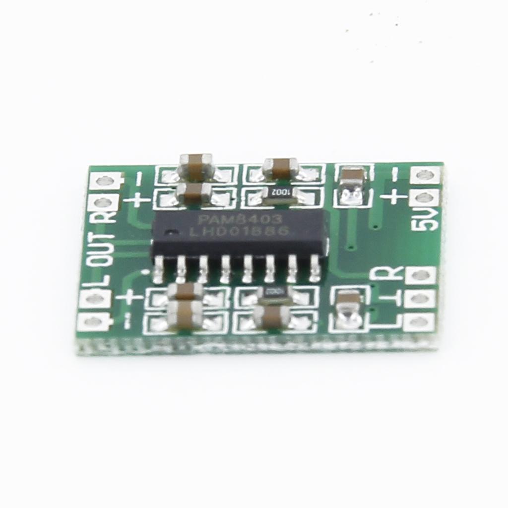 BolehDeals GF 007 Papan Penguat Audio Digital Mini Untuk SistemChip Tunggal Percobaan .