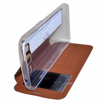 Book Cover iP Leather Cover for Sony Xperia Z3 Compact