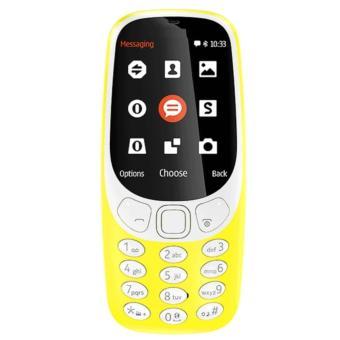 Brandcode B3310 Candybar - Dual Sim - Yellow