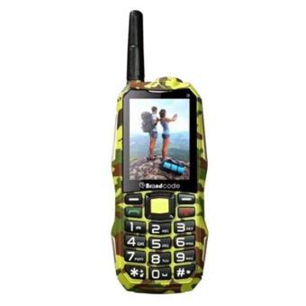 Brandcode B81 Army Camouflage Handphone- Hijau [Dual SIM/10000 mAh]