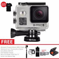 BRICA B-PRO 5 Alpha Edition Version 2 (AE2) 4K Camera Combo Extreme - Silver + Gratis Paket Bonus