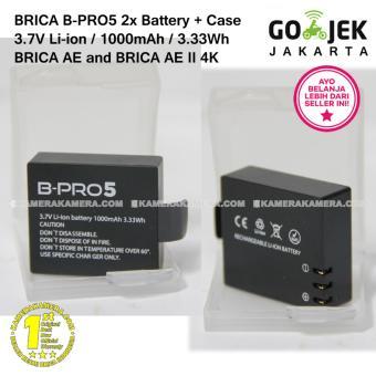 Gambar BRICA B PRO5 3.7V Li ion battery 1000mAh 3.33Wh (2) +
