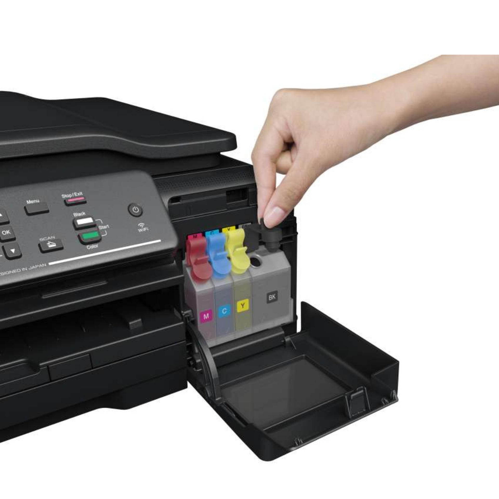 Brother Printer Inkjet Multifungsi DCP-T700W - Hitam .