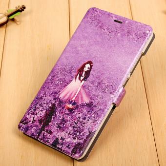 Gambar BUILDPHONE PU Leather Flip Smart Phone Cover Case for Xiaomi Mi Max( Multicolor)
