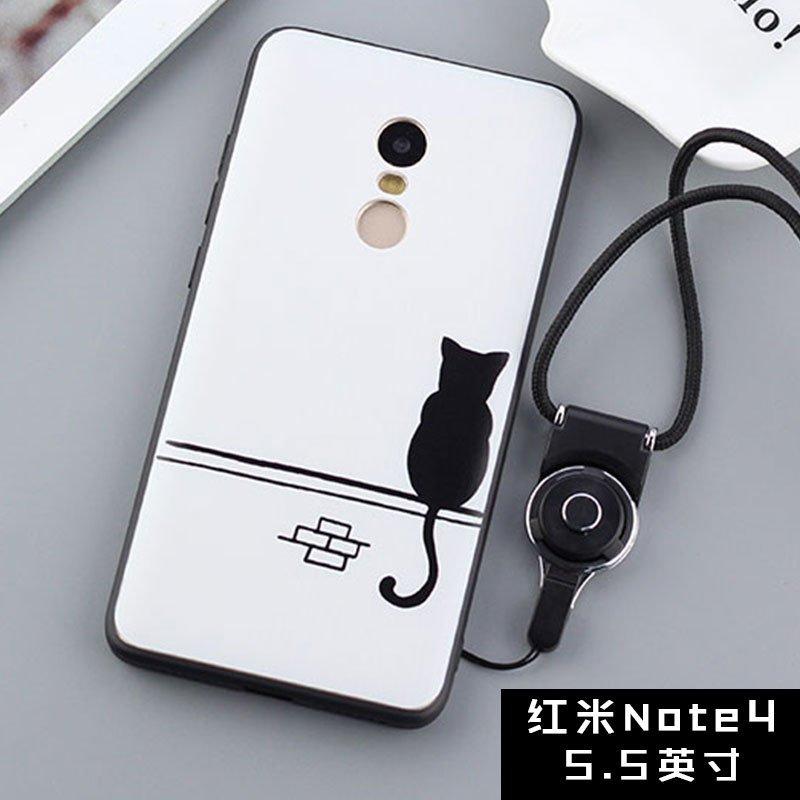BUILDPHONE Silica Gel Soft Phone Case for Xiaomi Redmi Note 4 (Multicolor) - intl