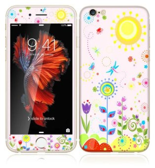 Gambar Bulan iphone6s 6 plus 3d kartun lucky cat apel layar penuh pelindung layar pelindung layar