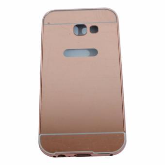 Harga Bumper Sleding Mirror For Samsung Galaxy A7 2017 A720 Bumper BesiKaca Metal Back Case Bumper