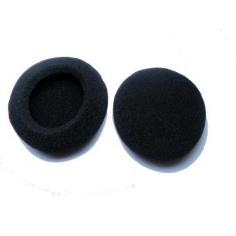 Online murah Busa Headphone / Headset Pengganti Universal Diameter 5.5cm - Hitam Harga Penawaran