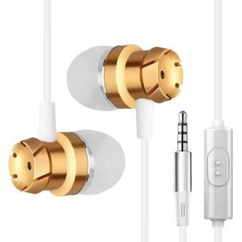 Business Metal Earphone Turbine High-Fidelity Headset In-ear Smart Phone - intl