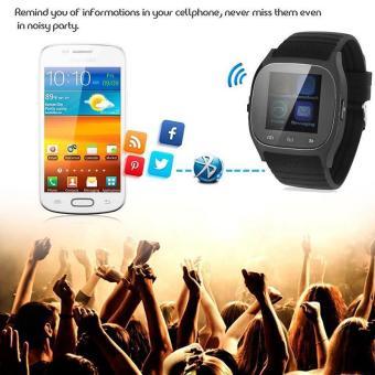 BUYINCOINS M26 Smartwatches Sinkronisasi Bluetooth Ponsel JamTangan Pasangan Cerdas Untuk IOS Android Smartphone - 3