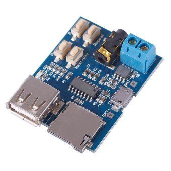 BUYINCOINS New MP3 Player Audio Decoder Module Board With Micro USBPort - intl