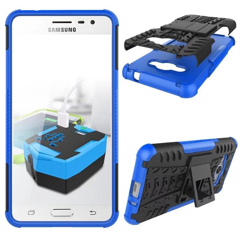 ... BYT kasar warna kasus untuk Samsung Galaxy J3 Pro 2016 dengan standarnya Biru