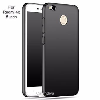Calandiva 360 Degree Protection Slim HardCase for Xiaomi Redmi 4X / Redmi 4X Prime 5.0 inch - Hitam