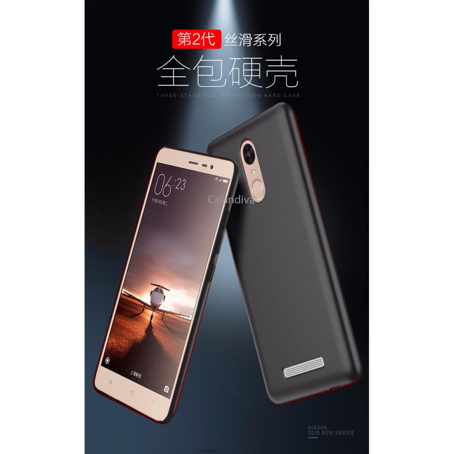 Calandiva 360 Degree Protection Slim Hardcase for Xiaomi Redmi Note 3 / Pro versi Kenzo .