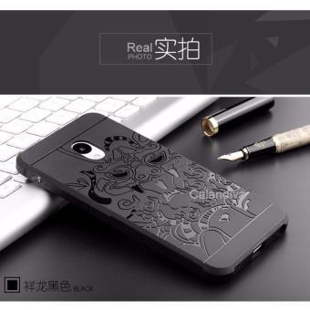 Harga Calandiva Dragon Shockproof Hybrid Case for Meizu M5 Mini 5.2 Inch Hitam Terbaru klik gambar.