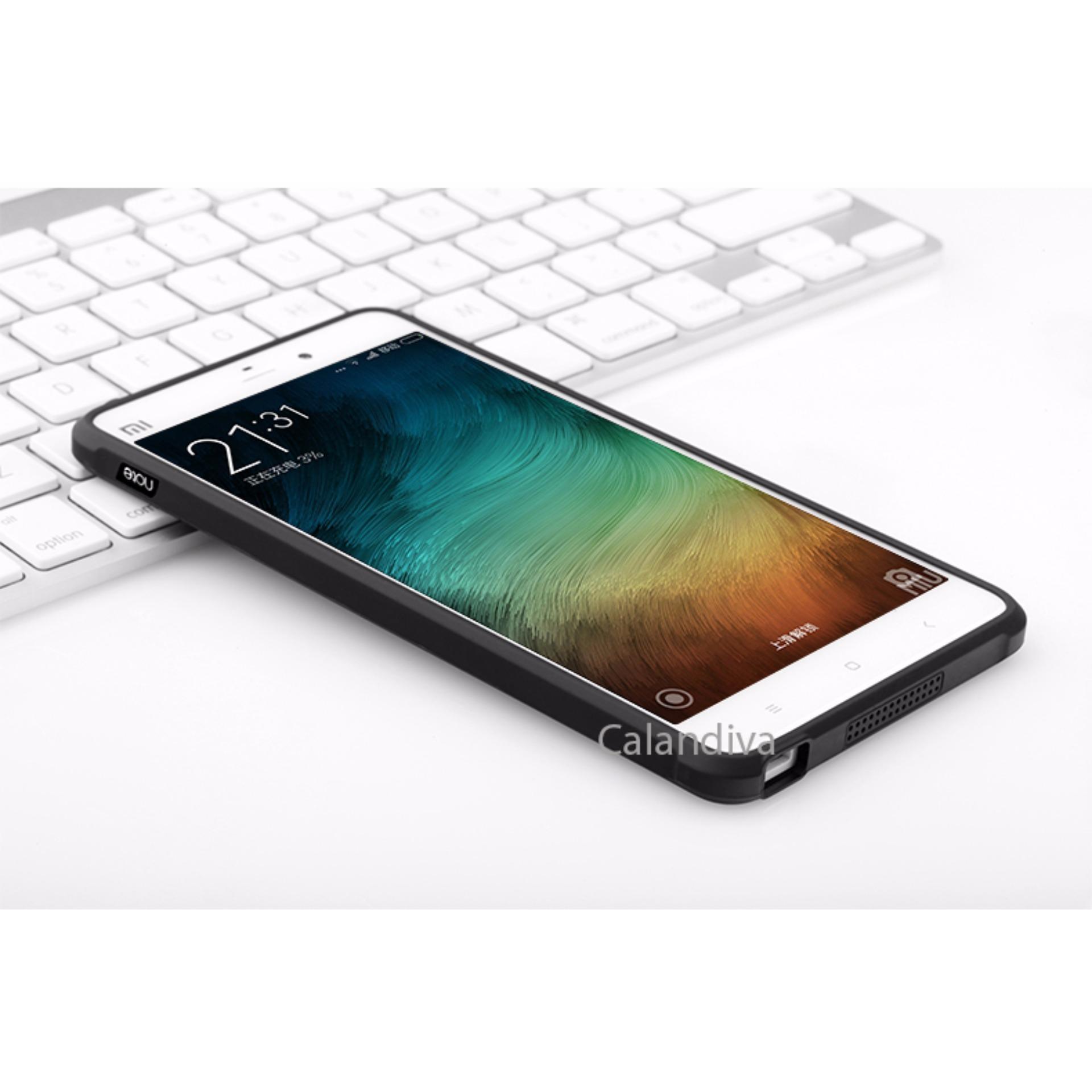Calandiva Dragon Shockproof Hybrid Case for Xiaomi Mi Note Pro5 7 inch Hitam .