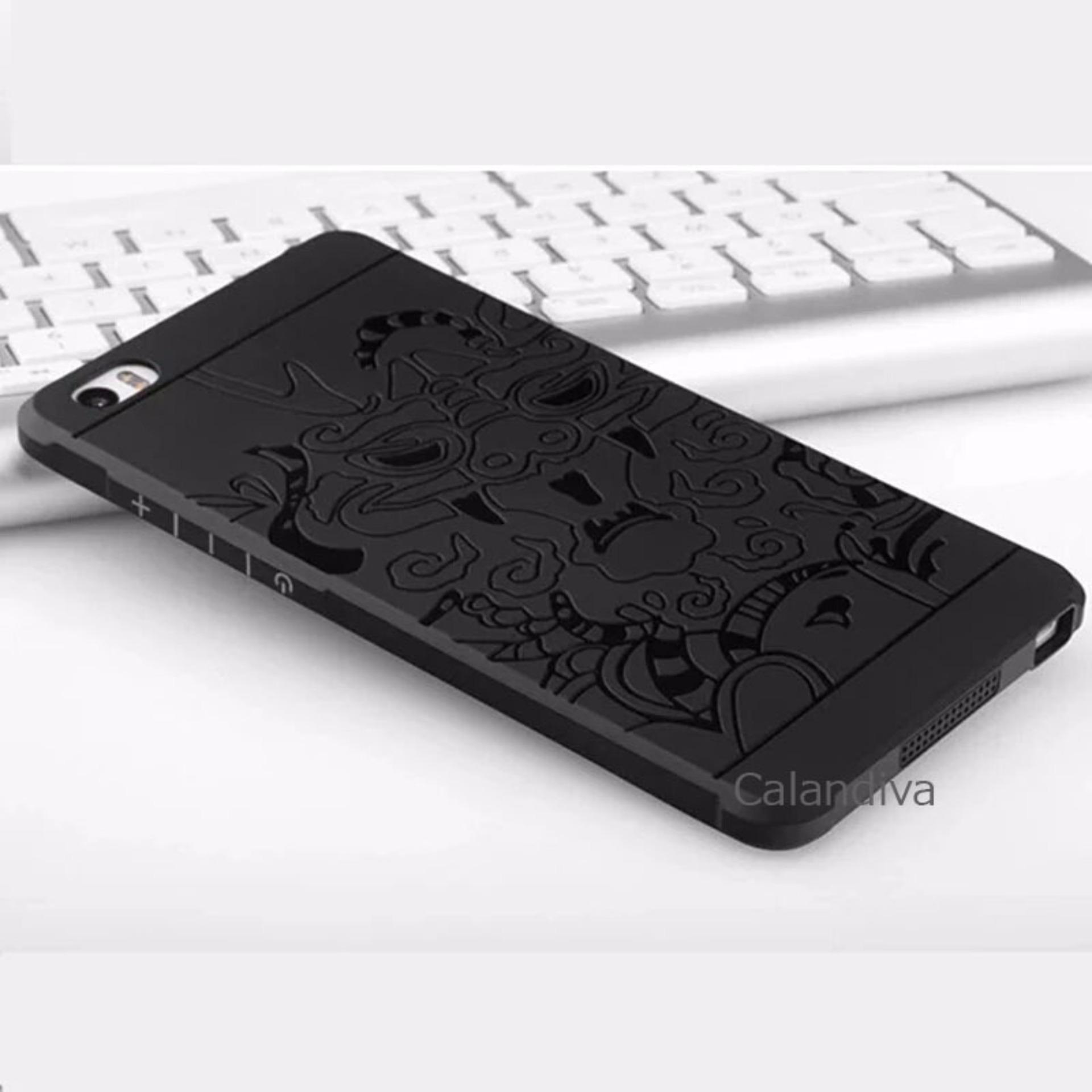 ... Calandiva Dragon Shockproof Hybrid Case for Xiaomi Mi Note / Pro5.7 inch - Hitam ...