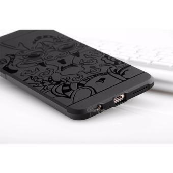 Calandiva Dragon Shockproof Hybrid Case untuk Oppo F1 Plus 5.5 Inch - Hitam .