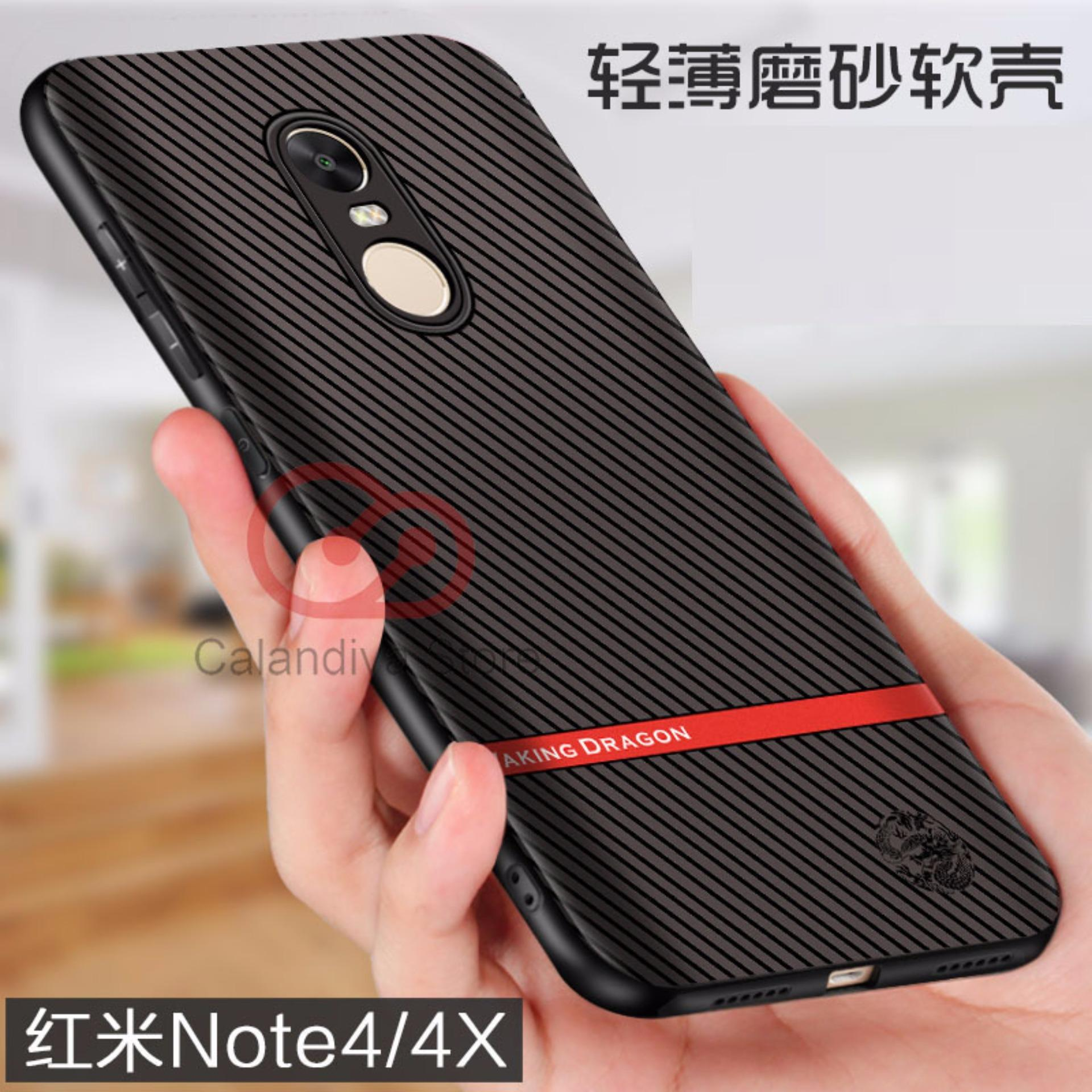 Calandiva Gentleman Series Shockproof Hybrid Case for Xiaomi Redmi Note 4 Mediatek / Redmi Note 4x