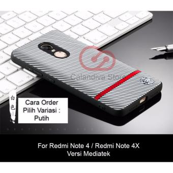 Calandiva Gentlemen Series Shockproof Hybrid Case for Xiaomi Redmi Note 4 Mediatek / Redmi Note 4x Mediatek