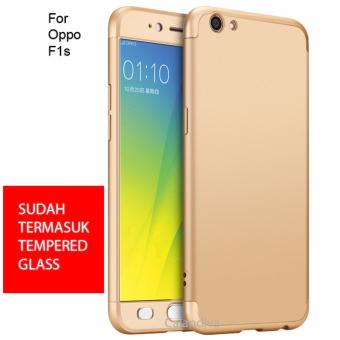 Calandiva Premium Front Back 360 Degree Full Protection Case for Oppo F1s / A59 / A59S
