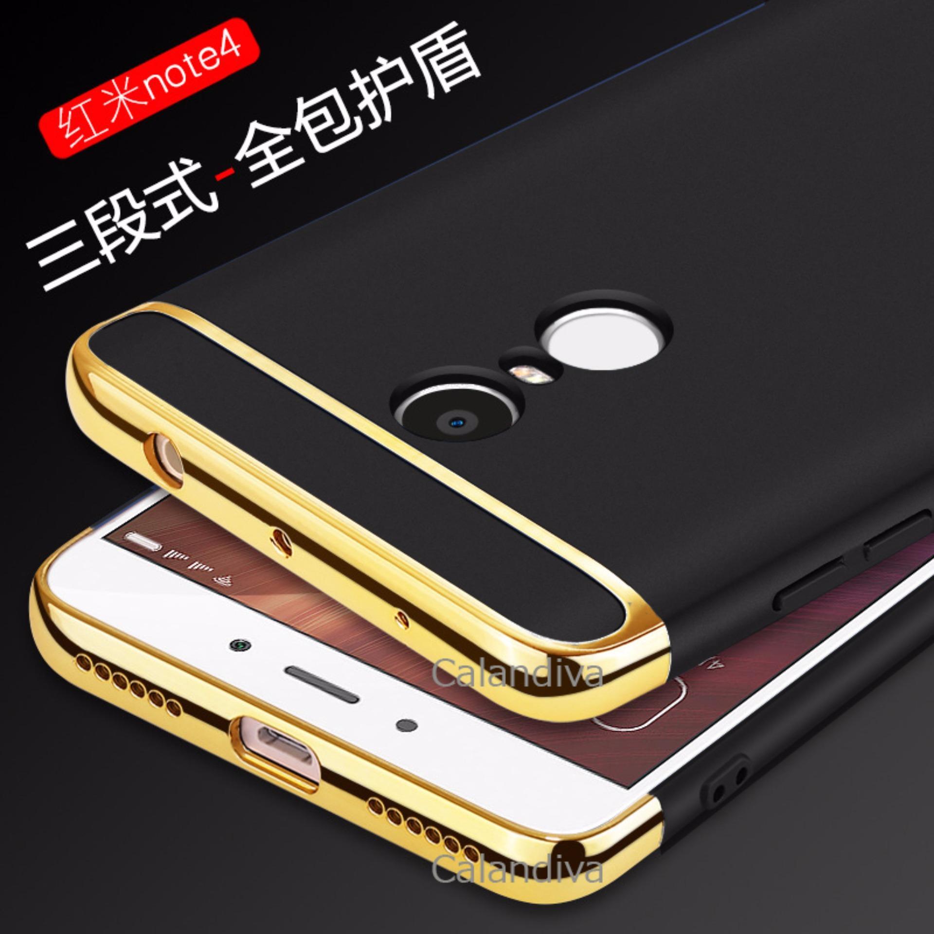 Calandiva Premium Quality Elegance Protection Hardcase for Xiaomi Redmi  Note 4 Mediatek   Redmi Note 4x ... 2af754dd00