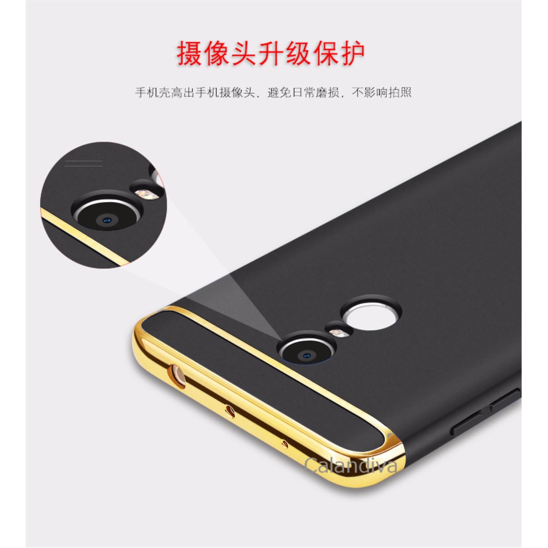 Calandiva Premium Quality Elegance Protection Hardcase for Xiaomi Redmi Note 4 Mediatek / Redmi Note 4x ...