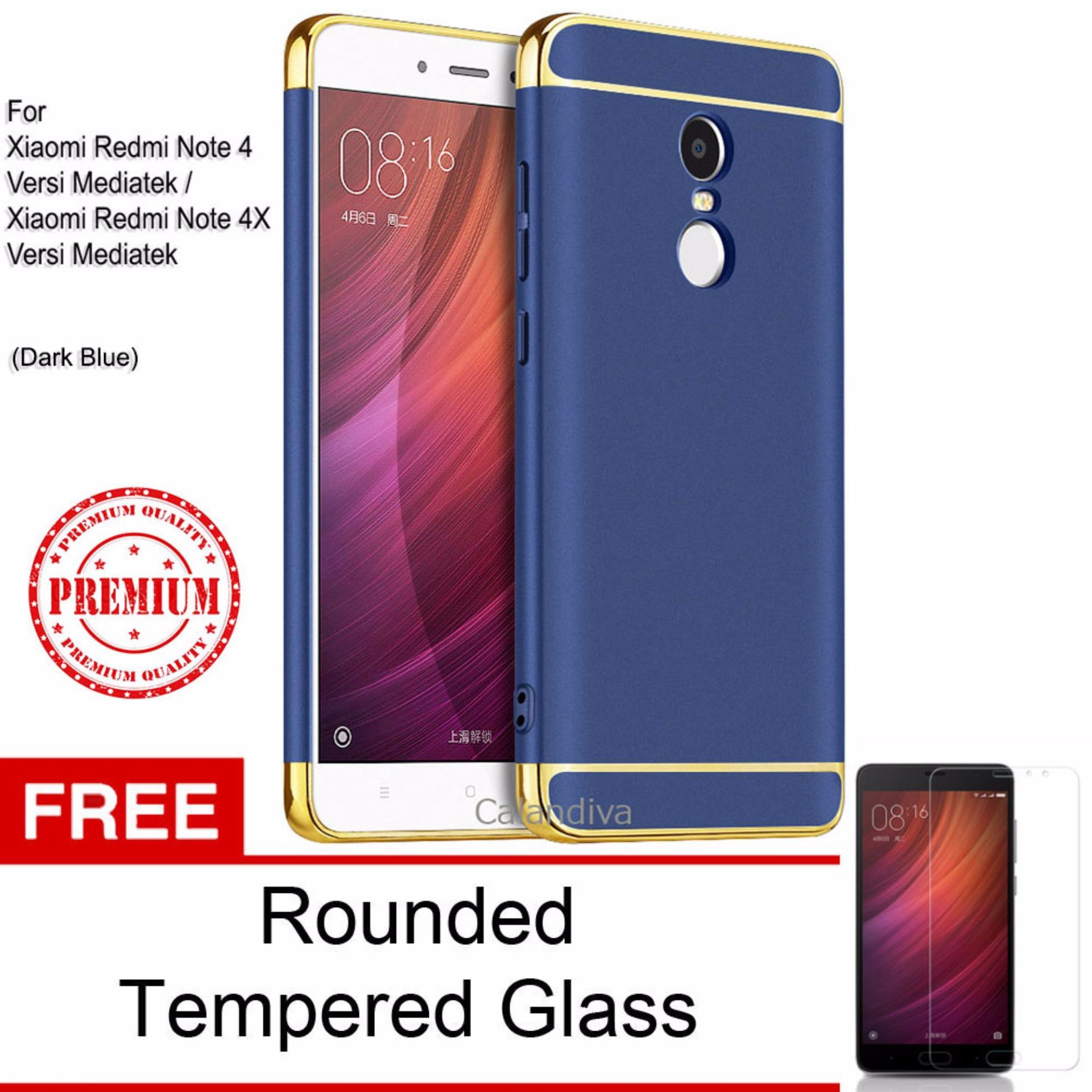 ... Calandiva Premium Quality Elegance Protection Hardcase for Xiaomi Redmi Note 4 Mediatek / Redmi Note 4x ...