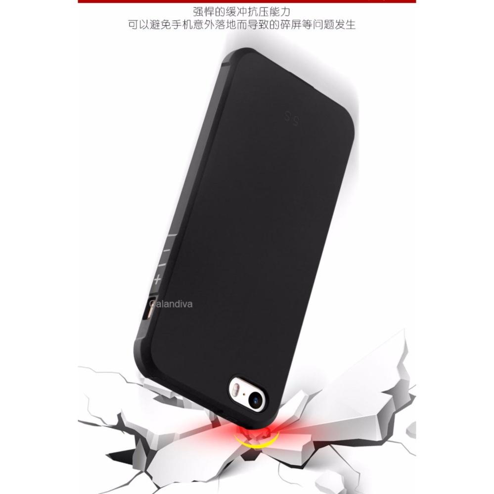Calandiva Shockproof Hybrid Case For Iphone 5 5s Se 4 Inch Hitam Peonia Carbon Samsung J5 Pro 2017 J530 Black