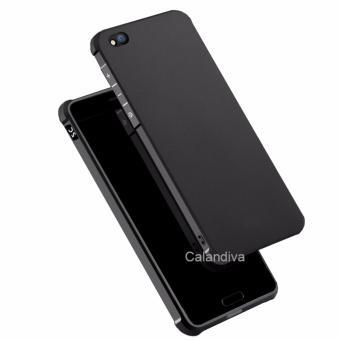 Calandiva Shockproof Hybrid Case for Xiaomi MI 5C- Hitam - 2 .