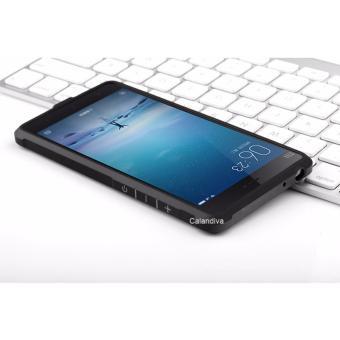 ... Calandiva Shockproof Hybrid Case for Xiaomi MI4i MI4c Hitam Gratis