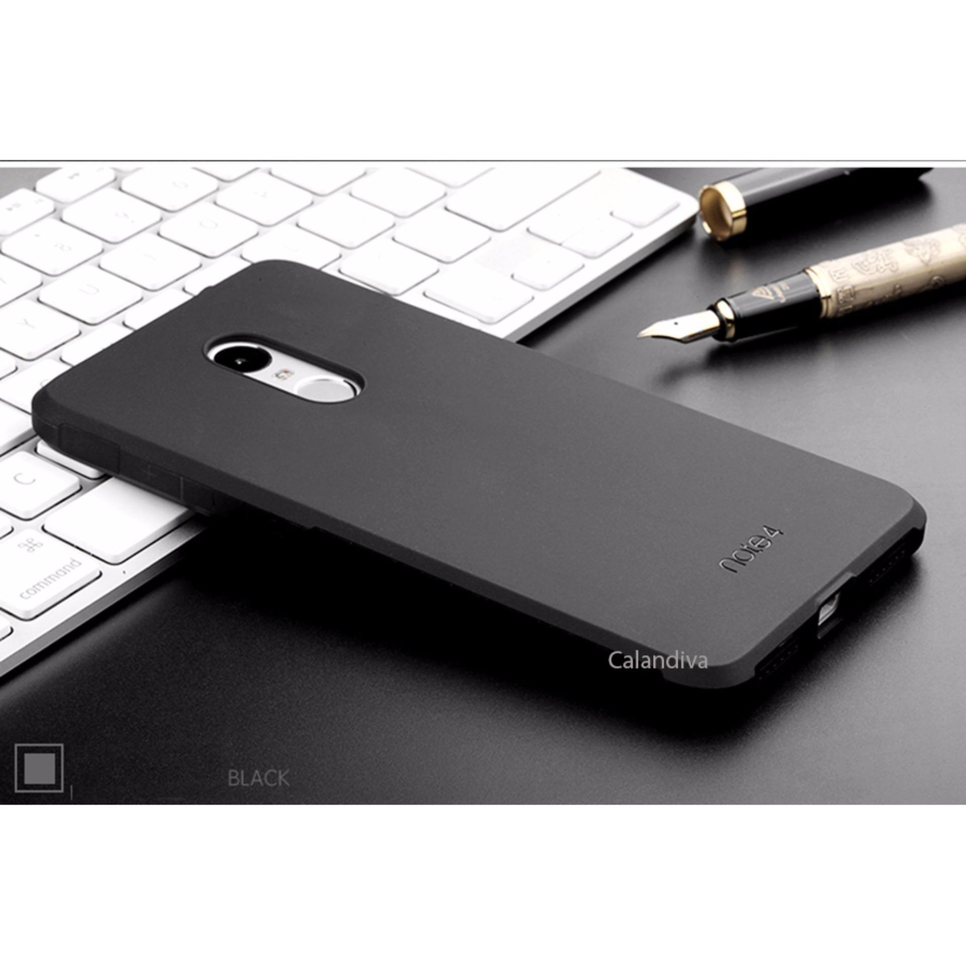 Calandiva Shockproof Hybrid Case for Xiaomi Redmi Note 4 Mediatek /Redmi Note 4X Mediatek .