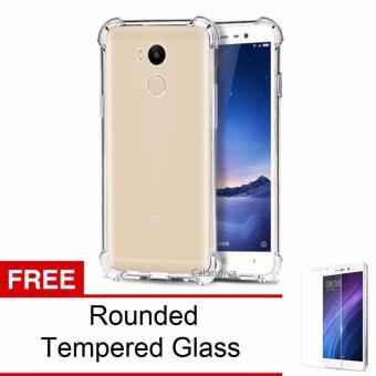 Calandiva Shockproof TPU Ultrathin Case untuk Xiaomi Redmi 4S / Prime / Pro - Clear +